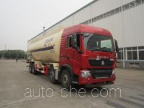 Yunli LG5312GFLZ4 low-density bulk powder transport tank truck
