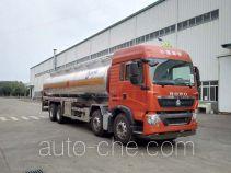 运力牌LG5320GYYZ4型铝合金运油车