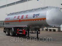 运力牌LG9355GYY型运油半挂车
