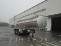 运力牌LG9401GFW型腐蚀性物品罐式运输半挂车