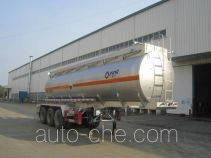 运力牌LG9402GFW型腐蚀性物品罐式运输半挂车