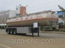 运力牌LG9403GHY型化工液体运输半挂车