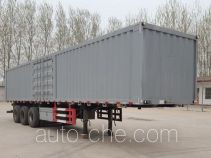 Longgua LGC9400XXY box body van trailer
