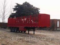 飞轮牌LHC9400CXY型仓栅式运输半挂车
