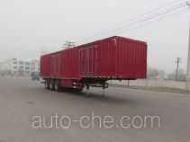 Feilun LHC9402XXY box body van trailer