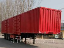 Xinhongdong LHD9400XXYE box body van trailer