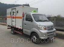Zhengyuan LHG5030XRQ-WP01 flammable gas transport van truck