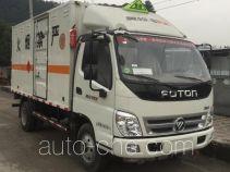 Zhengyuan LHG5040XRQ-FT01 flammable gas transport van truck