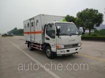 Zhengyuan LHG5070XRQ-JH01 flammable gas transport van truck