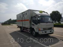Zhengyuan LHG5090XRQ-JH01 flammable gas transport van truck