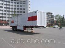 Zhengyuan LHG9270XXY box body van trailer