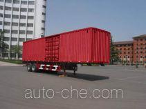 Zhengyuan LHG9320XXY box body van trailer