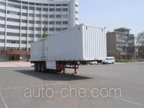 Zhengyuan LHG9390XXY box body van trailer
