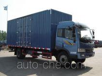 Yutian LHJ5160XXY box van truck