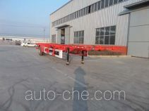 杨嘉牌LHL9150TJZ型空载集装箱运输半挂车
