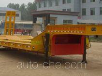 杨嘉牌LHL9231TDP型平板半挂车