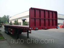 杨嘉牌LHL9400TPB型平板运输半挂车