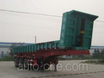 杨嘉牌LHL9402ZZX型自卸半挂车