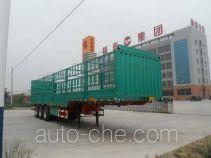 杨嘉牌LHL9380CCY型仓栅式运输半挂车