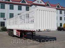 杨嘉牌LHL9404CXY型仓栅式运输半挂车