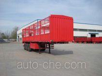 杨嘉牌LHL9405CCYA型仓栅式运输半挂车