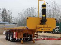 Ruiao LHR9401ZZXP flatbed dump trailer
