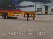 Huasheng Shunxiang LHS9350TJZ container transport trailer