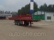 华盛顺翔牌LHS9400TPB型平板运输半挂车