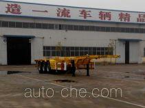 华盛顺翔牌LHS9401TJZE型集装箱运输半挂车