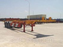 Taicheng LHT9390TJZG container carrier vehicle