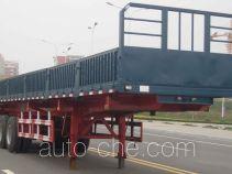 泰骋牌LHT9401ZZX型自卸半挂车