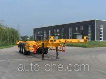 智沃牌LHW9400TJZ型集装箱运输半挂车