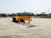 智沃牌LHW9401TJZ型集装箱运输半挂车
