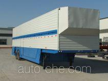 鲁岳牌LHX9220TCL型车辆运输半挂车