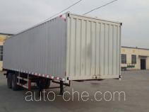 Luyue box body van trailer