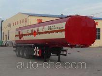 鲁岳牌LHX9400GRY型易燃液体罐式运输半挂车