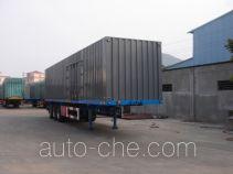 Luyue LHX9400XXY box body van trailer