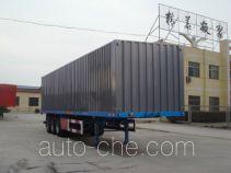 Luyue LHX9401XXY box body van trailer
