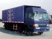 华宇达牌LHY5370XXY型厢式运输车