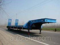 华宇达牌LHY9280TDP型低平板半挂车