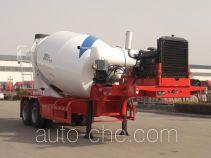 华宇达牌LHY9350GJB型混凝土搅拌运输半挂车
