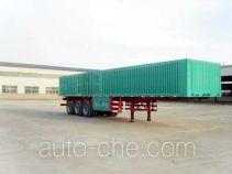Huayuda LHY9352XXY box body van trailer
