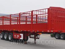 华宇达牌LHY9382CCY型仓栅式运输半挂车