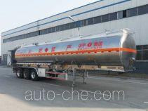 华宇达牌LHY9400GYY型铝合金运油半挂车
