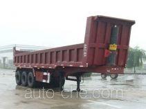 华宇达牌LHY9400ZZX型自卸半挂车