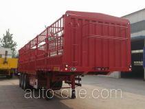 华宇达牌LHY9401CCY型仓栅式运输半挂车