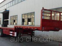 华宇达牌LHY9401TPB型平板运输半挂车