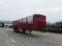 华宇达牌LHY9402CCY型仓栅式运输半挂车