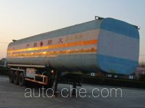 Huayuda LHY9403GHY chemical liquid tank trailer