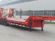 华宇达牌LHY9403TDPA型低平板半挂车